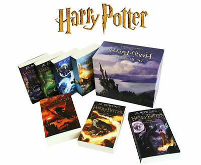 J. K.Rowling Complete Harry Potter Collection 7 Books Children's Boxed Set NEW