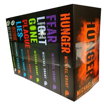 Gone series By Michael Grant 8 Books Collection Set LIES Reloaded,Plague New