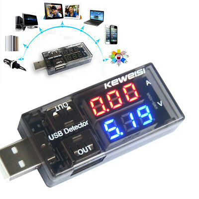 AU USB Charger Doctor Voltage Current Meter Phone Battery Tester Power Detector