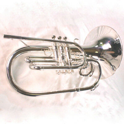 King Model 1121SP Ultimate Professionell Marschieren Mellophone Neuwertiger