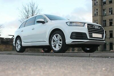 Audi Q7 Luxury Limo Wedding Prom Car Hire 4x4 North Yorkshire White Any Occasion