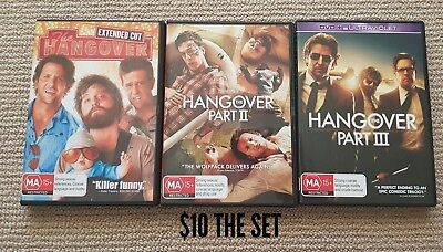 The Hangover Dvds 1 2 & 3