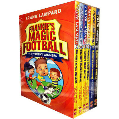 Frank Lampard Frankies Magic Football Series 6 Books Collection Set The Grizzly