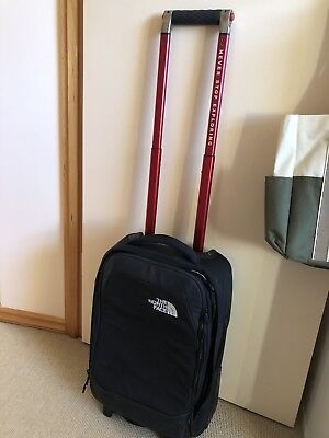 The North Face Carry On 35L Overhead Wheelie Bag. Used Twice