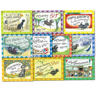 Hairy Maclary & Friend 10 Books Collection Set Pack Lynley Dodd Paperback NEW