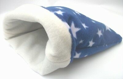 **cozy Pets** Fleece Snuggle Pouch Guinea Pig Bed, Bag Hedgehog,rat  *large*