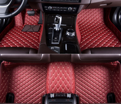 For BMW 3-Series F30 E90 Car Floor Mats Front Rear Liner Waterproof Auto Mats