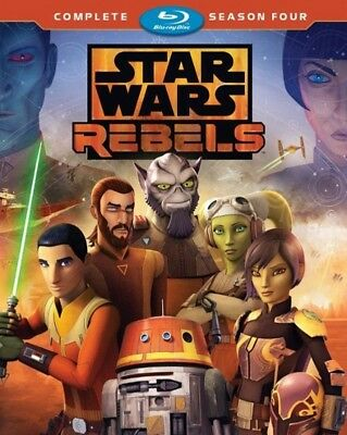 Star Wars: Rebels Complete Season 4 [New Blu-ray]  Pack USA SELLER