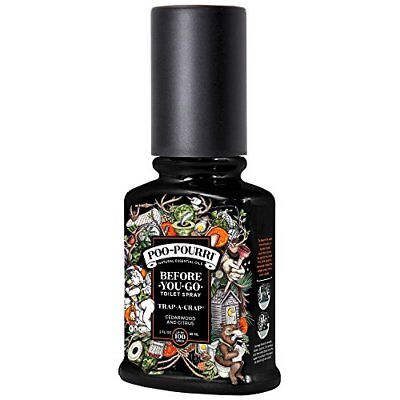 Poo-Pourri Before-You-Go Toilet Spray 2 oz Bottle, (2-Ounce|Trap-a-Crap)