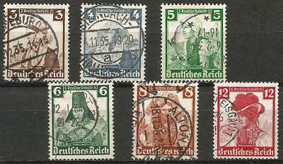 Germany (Third Reich) 1935 Used - Provincial Costumes Welfare Fund - Variations
