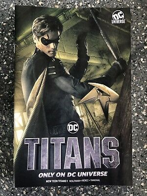 NYCC Titans 1 Variant robin cover NYCC 2018 (not foil)