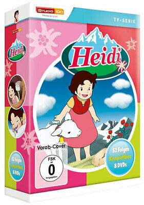 Heidi - Komplettbox TV-Serie (DVD) 8DVDs Min: 1210DDVB   52-Episoden - UFA S&D S