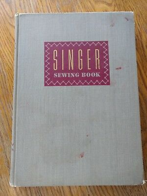 Singer Sewing Book by Mary Brooks Picken Vintage 1951 How to/ DIY