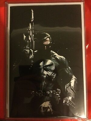 Punisher 1 Dell Otto Virgin Variant Limited To 400 Copies With COA NM+