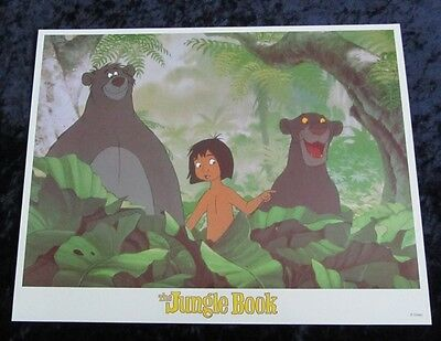 Walt Disney's The Jungle Book lobby card # 7 (90's Reissue Lobby Card)