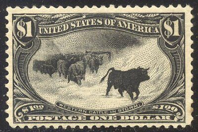 U.S. #292 Mint (NH) BEAUTY - 1898 $1.00 Trans-Mississippi