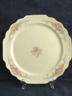 4 Rare Vintage W.S. George Lido White Porcelain Dinner Plates 165A
