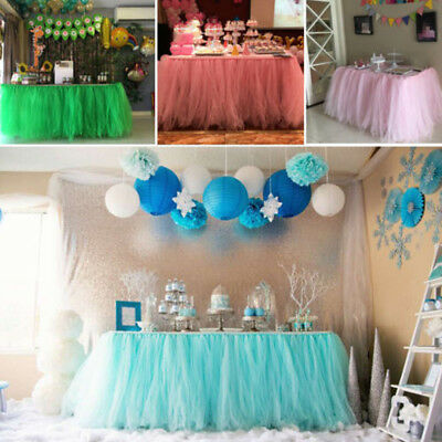 Europe Style Table Skirt Cover Birthday Wedding Festival Party Decor Table Cloth