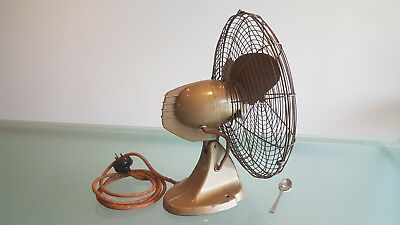 Art Deco Electric Fan. Gec. Classic Style, All Metal, Working Order.