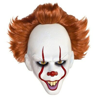 Pennywise the Dancing Clown Latex Mask IT Officially Licensed IT NEW