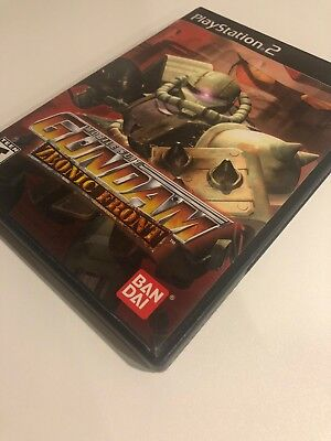 Mobile Suit Gundam: Zeonic Front (Sony PlayStation 2, 2002) PS2 No Manual