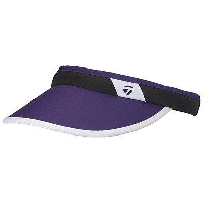NEW TaylorMade Womens Fashion Purple White Adjustable Golf Visor 52d6ed75cd2
