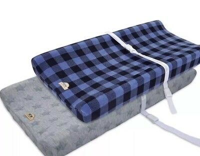 BlueSnail Plush Super Soft and Comfy Changing Pad Cover Change Table Cradle B...