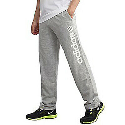 adidas Neo Men's Casual Grey Track Suit Pants Trackies Training Cotton M31902