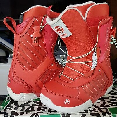 Brand new K2 Scene US7 ladies Snowboard boots.