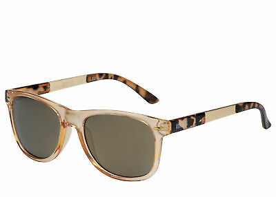 Kenneth Cole Reaction Soft Square Light Brown Plastic Sunglass KC1259 47C