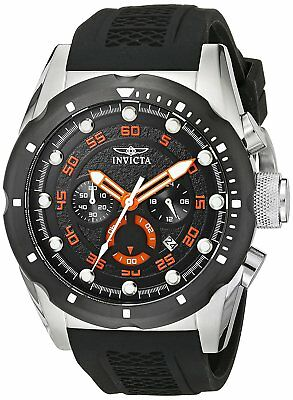 Invicta Men's 20305 Speedway Chronograph 50mm Black Dial Watch