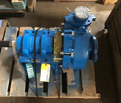 Rebuilt Metso HM100 Slurry Pump with Spiral Trac Seal, Bearing End, & Shaft
