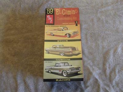 AMT ERTL '59 El Camino 3 in 1 Customizing Kit #8669 1:25 scale