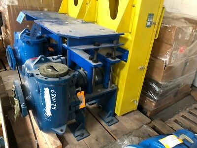 Rebuilt Metso HM200 Slurry Pump with Mechanical Seal, Bearing End, & Shaft