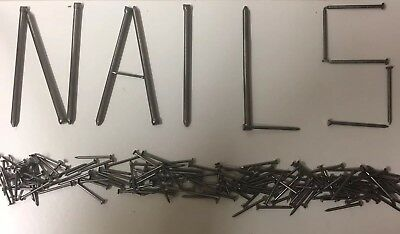 Nails! Ring, Lost Head, Galvanised, Oval, Twist Etc. Big Packs! 450g or 1KG