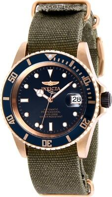 Invicta 27628 Pro Diver Men's 42mm Automatic Rose Gold-Tone Steel Blue Dial