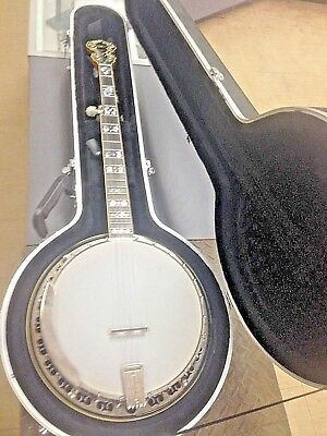 KAY VINTAGE 5-STRING Resonator Banjo w/ Chipboard Case - $66 00