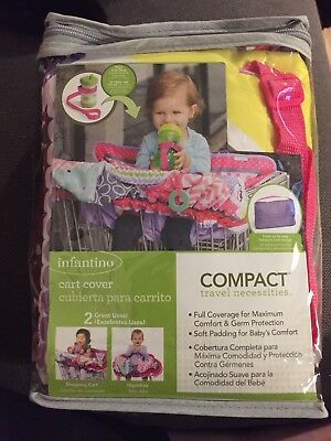 Infantino Compact Cart Cover muilti color and soft padding