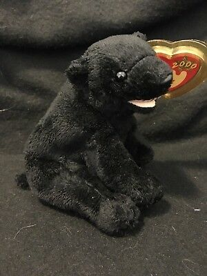 Ty Beanie Baby ~ CINDERS the Bear ~ MWMT ~ RETIRED