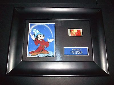 FANTASIA Framed Movie Film Cell Memorabilia Compliments poster dvd animation