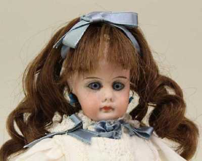 """Antique RARE Tiny 10 1/2"""" Closed Mouth Belton #630 German Bisque Doll"""