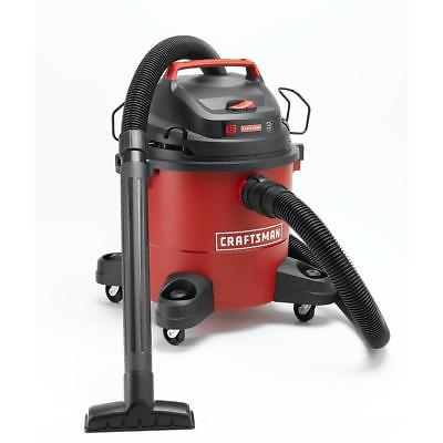 Craftsman Wet Dry Vac 6 Gallon Vacuum Cleaner 3 Peak HP Portable Shop Blower NEW