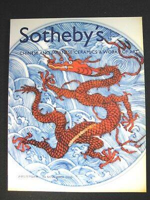 Sotheby's  Auction Catalog  November 14 2005 Chinese And Japanese Works Of Art