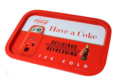 Vintage Coca Cola Tin Tray Retro Have a Coke Metal Serving Plate Trays Platter