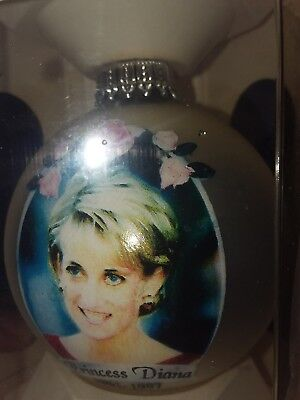 princess diana christmass ornament new