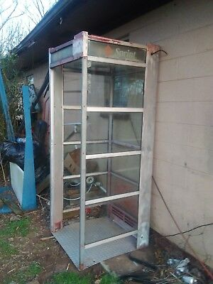 telephone booth vintage