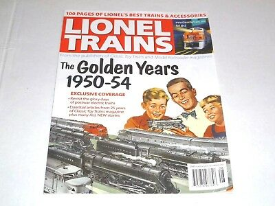 Classic Toy Trains Lionel Trains Golden Years 1950-54 Magazine