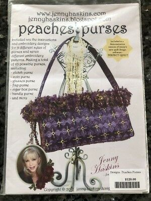 Jenny Haskins Purse Designs CD And Instructions