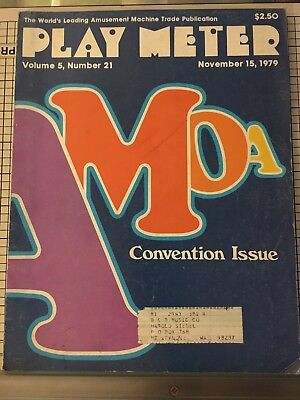 Play Meter Magazine November 15, 1979 - V. 5, #21 - Convention Issue