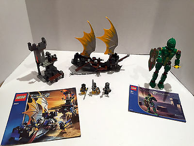 Lego 8821 Castle Knights Kingdom Rogue Knight Battleship Complete W